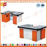 Shop Supermarket Money Cashier Desk Table Metal Checkout Counters (Zhc18)