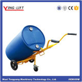 Capacity 400kg Three Wheels Hand Oil Drum Carrier