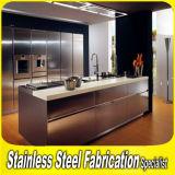 Modern Metal Stainless Steel Kitchen Furniture Kitchen Cabinet