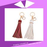 Handmade PU Tassel Key Chain for Handbag P016-003