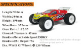 2.4G 4WD Hsp 94061 1/8th Sacle Brushless Electric Truggy