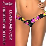 Woman Brazilian Tanga Swimsuit Bikini Panty (L91292-7)