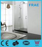 Tempered Glass Swing Shower Door with Side Panel Shower Cabin Shower Enclosure Bathroom Shower