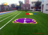 Kindergarten Decoration Playground Grass Floor