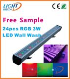 24X3w 3in1 IP65 RGB Outdoor LED Wall Washer