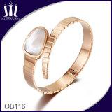 Shell Inlay Snake Bracelet Ob116
