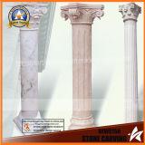 Indoor Marble Columns, Hotel Stone Pillars, Garden Pillars