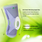 Kangda Knee Compression Sleeve Support for Sports, Basketball, Joint Pain Relief, Injury Recover