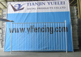 Temporary Metal Pool Fence/Galvanized Swimming Pool Fence/Assembled Iron Factory Guard Fencing/Security Wrought Iron Fence