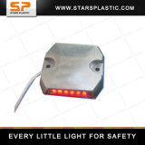 LED 24VDC Wired Road Markers Plastic LED Tunnel Reflective Flashing Stud
