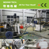 Durable double stage water ring cutting pelleting line