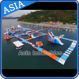 Great Fun Giant Inflatable Water Park, Inflatable Aqua Park for Kids and Adults