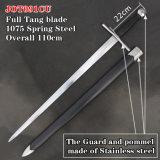 Handmade Medieval Swords with Scabbard 110cm Jot091cu