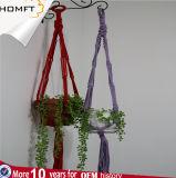 Macrame Plant Hanger Set of 2, 39 Inch Handmade Cotton Plant Hanger