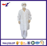 Rhomb Knitted Fabric Coat ESD Protective Antistatic Clothing