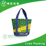 Custom Beautiful Tartan Plaid PP Non Woven Shopping Bags