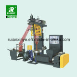 Double Screw HDPE LDPE Plastic Film Blowing Extruder Machine Sale