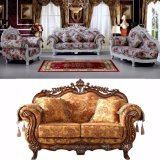 Living Room Furniture Sets with Wood Fabric Sofa (929E)