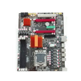 X58 Chipset LGA1366 Computer Mainboard with 3* DDR3/IDE/5*SATA