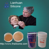 RTV Molding Liquid Silicone Rubber for Human Mask