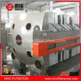 High Temperature Cast Iron Plate Frame Filter Press Manufacturer Price
