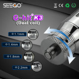 Huge Vapor Seego G-Hit K3 Vaporizers with Factory Direct Supplier