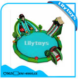 Hedgehog Theme Inflatable Water Park with Round Swimming Pool for Sale