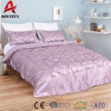 King/Queen Size Luxury Elegant Home Textile Satin Bedding Set
