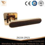 Door Hardware Accessories, Door Lever Lock Handle on Radius Rose (Z6222-ZR23)