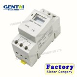 LCD Digital DIN Rail Ahc15A 180-250V Timer Time Switch