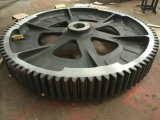 Large Forging Casting Gear OEM Rotating Gear Ring with Machining