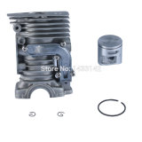 Chainsaw Parts 44mm Cylinder Piston Kit for Husqvarna (450 450e 50.2 Cc) Replace 544 11 98-02