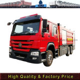 Hot Price Sinotruk HOWO Brand 10m3 6*4 Fire Fighting Trucks in Africa Market