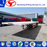 20FT 40FT 3 Axle Skeleton Container Flatbed Cargo Trailer for Sale