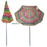 Sripes Print Beach Umbrella Parasol Umbrella