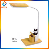 High Power Cute Cartoon Children Desk Lamp with Pen Container