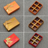 Made in China Factory Custom Paperboard Praline Chocolate Boxes