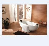 Elliptic Design Couple Whirlpool Massage Bathtub (M-2003)