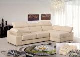 Genuine Leather Recliner Sofa (858)