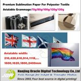 80/100/120GSM Dye Sublimation Paper for Fabric, Fast Dry & Sticky (KLN)