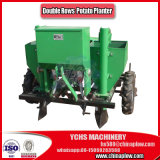 Tractor Mounted Double Rows Sweet Potato Planter with Rubber Tyres