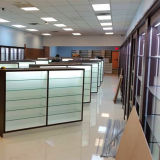 Cabinets Counters Display Cases Slot Wall Wooden Retail Shelving Rack