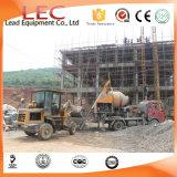 Ljbt40 P1 CE Mobile Electric Concrete Mixer with Pump