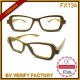 Fx134 Material Envirenmental Friendly Wood Sunglasses Made in Wenzhou