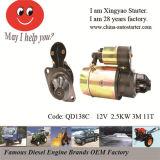 Excavator/ Boat/ Generator New OEM Diesel Engine Starter Motor Qd138c