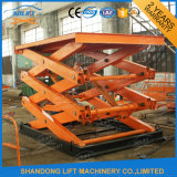Scissor Cargo Work Platform with Ce