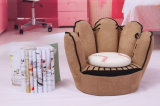 Cute Kids Fabric Sofa in Brown (SXBB-319)