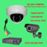 1080P HD CCTV HD Sdi Camera and HD Sdi DVR