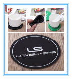 Promotional 3D Round OEM Rubber Square PVC Coaster