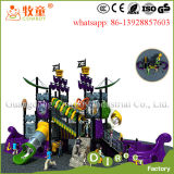 Pirate Ship Plastic Kids Outdoor Playground for Sale